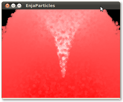 screenshot of 1million particles