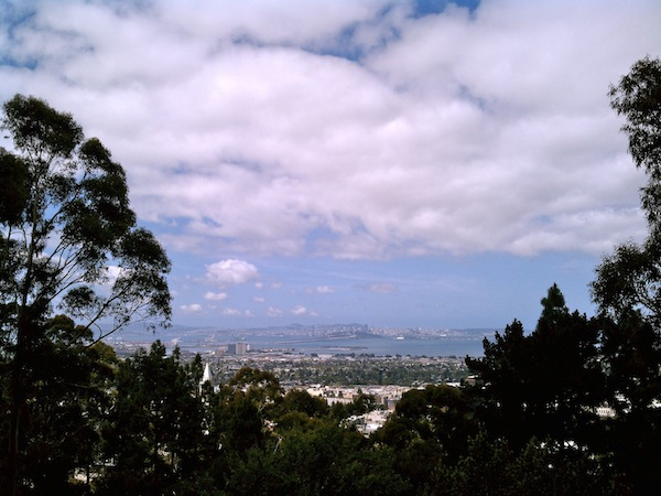 view of the Bay from Berkeley Lab